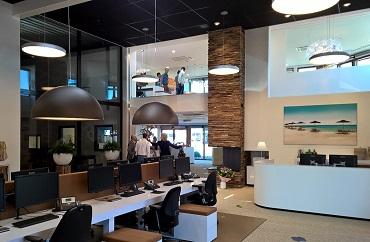 Uitbreiding kantoor
