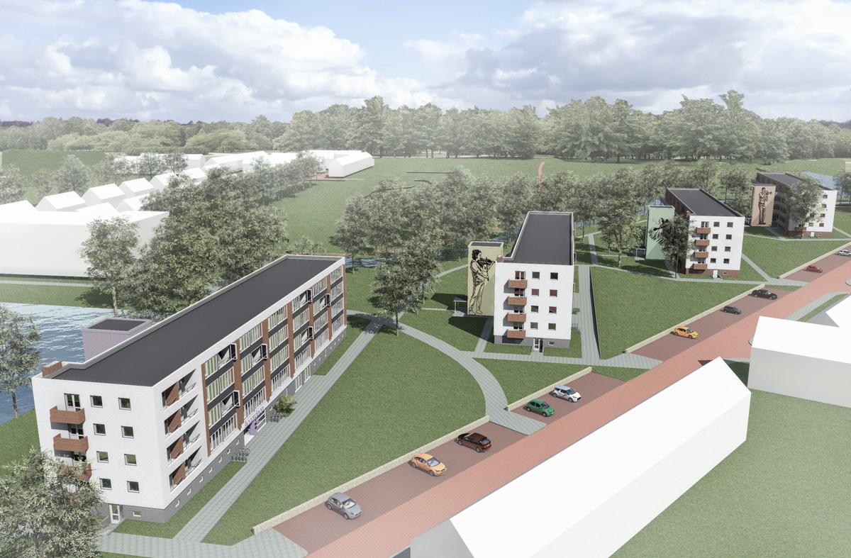 Ingenium - Prijsvraag revitalisering flats Doetinchem