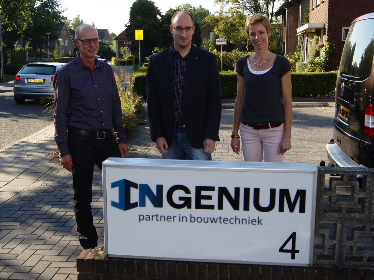 Frits, Mattijs en Paulien