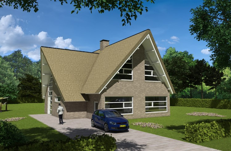 Nieuwbouw Woonhuis met bijgebouw Emmer-Compascuum