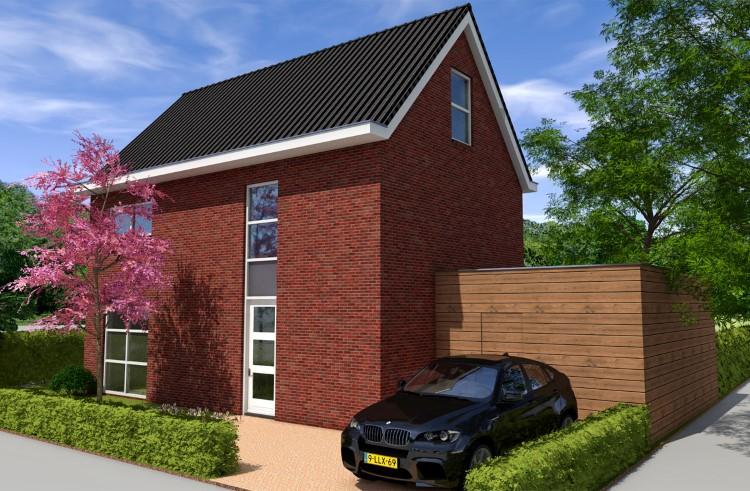 Nieuwbouw woonhuis Schuytgraaf Arnhem